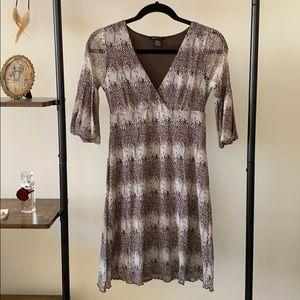 BCBGMaxazria Bubble Sleeve Dress
